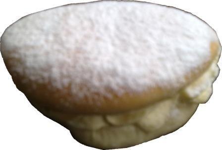 banket en taarten puddingbroodje